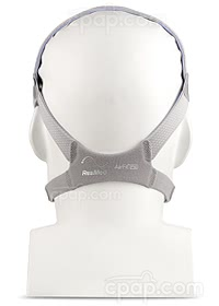 AirFit F10 Full Face Mask with Headgear-Back-On Mannequin - (Not Included)