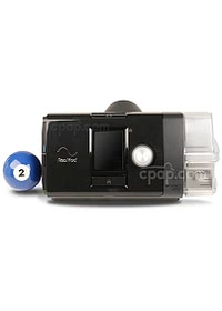 AirSense™ 10 AutoSet CPAP Machine with HumidAir™ Heated Humidifier (Billiards Ball Not Included)