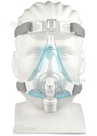 Amara Gel Full Face Mask - Front - Shown on Mannequin (Not Included)