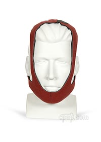 cardinal health tiara adjustable ruby chinstrap front