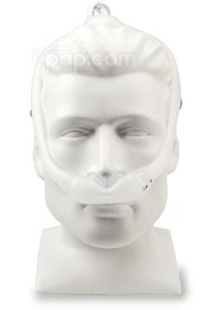 DreamWear Nasal Pillow CPAP Mask with Headgear - Front (Mannequin Not Included)