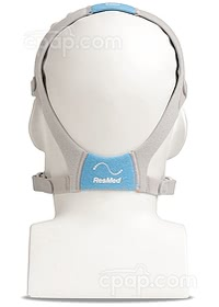 Back View of the AirFit™ F20 Full Face CPAP Mask with Headgear