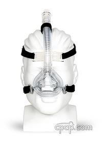 Aclaim 2 Nasal CPAP Mask with Headgear - Front (shown on mannequin)