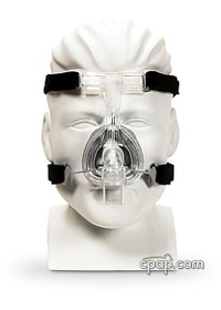 fisher paykel zest nasal cpap mask front