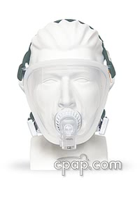 FitLife Total Face Mask with Headgear -Front on Mannequin