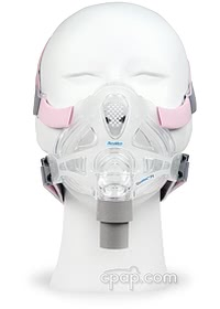 Quattro FX for Her Full Face Mask Front (Shown on mannequin)
