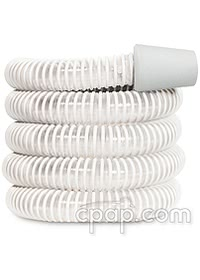 Respironics Pure White 6 Foot Performance CPAP/BiPAP Tubing (22mm) coiled