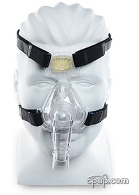respironics comfort classic nasal cpap mask front