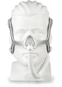 Wisp Nasal CPAP Mask with Headgear - Front (On Mannequin)