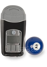 Z1 Auto CPAP Machine - Shown with Billiard Ball (Not Included)